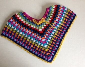 poncho for girl