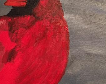 Custom Bird Paintings on Canvas