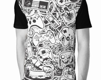 """Gamer T-Shirt - """"Controllers"""""""