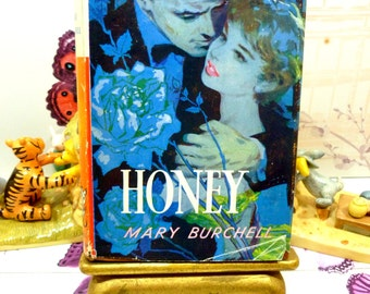 Rare Vintage Hardback Mills and Boon Romance Honey by Mary Burchell First Edition 1959 with DW