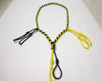 Custom Duck/Goose/Waterfowl/Predator Call Lanyard Yellow and Black