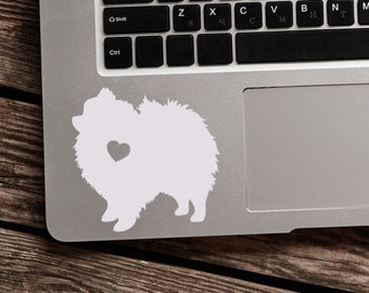 SUMMER SALE! Pomeranian Sticker Pomeranian Decal Car Laptop Vinyl Decal Sticker
