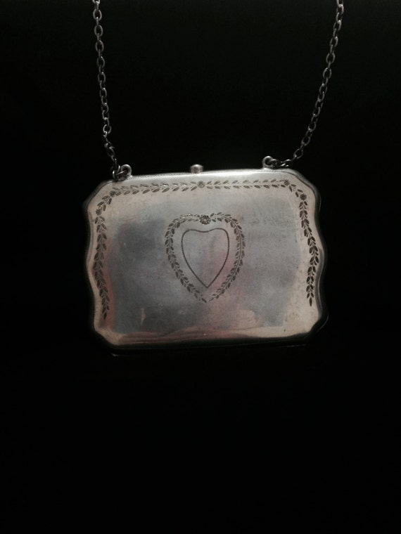 Sterling Purse Jewelry Antique by CLLEWISLLC