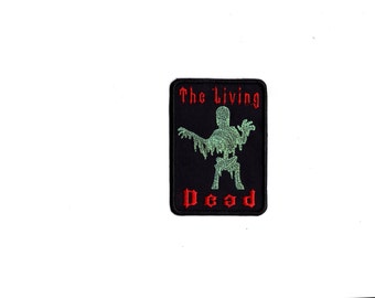 the living dead zombie Patch Iron and Sew on Patch M6
