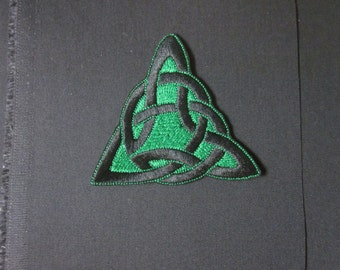 Celtic knot iron  on patch