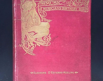 Music of the Poets, Eleonore D'Esterre-Keeling, c1897, Illustrated
