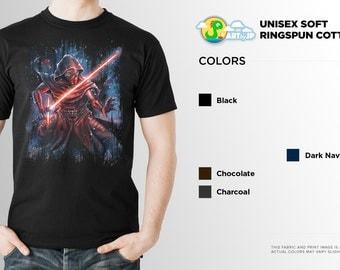 Star Wars Kylo Ren Shirt | The Force Awakens | PREMIUM QUALITY | Lightsaber | sci fi | Geek Clothing | T-Shirt | Geek Tee | Geek Gift