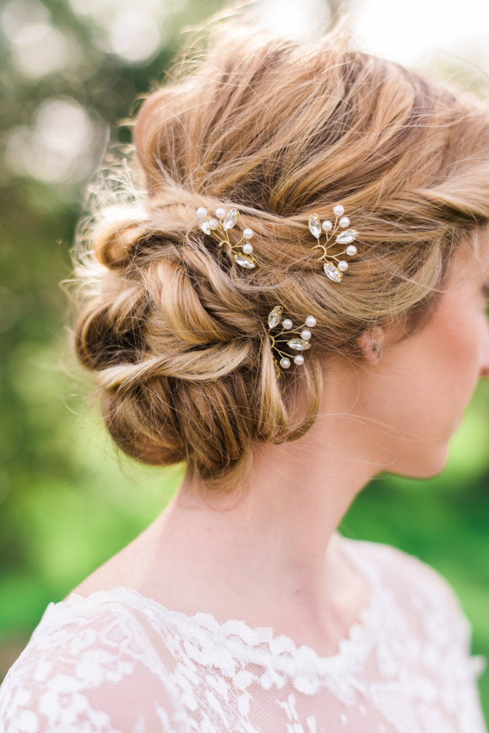 bridal hair accessories - etsy