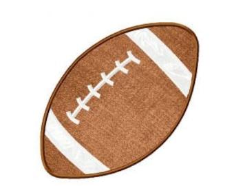 Football Applique & Stitch