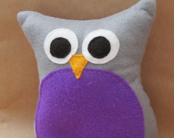 Owl Plush, Gift for Owl Lovers, House Decoration