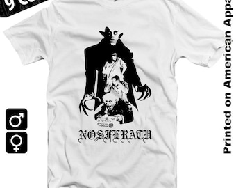 Nosferatu t shirt etsy for Werner herzog t shirt