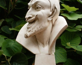 "High Bust of Mephistopheles, Worker for Lucifer (15.6"")"