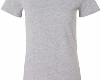 Lifeguard Bottom Print Ladies Longer Length Tee T-Shirt BLIFEGUARD-6004