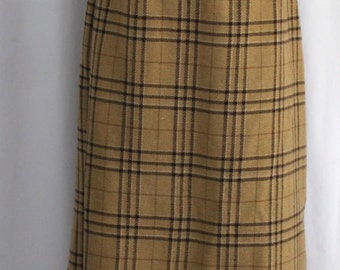 Sag Harbor Flannel Maxi Skirt