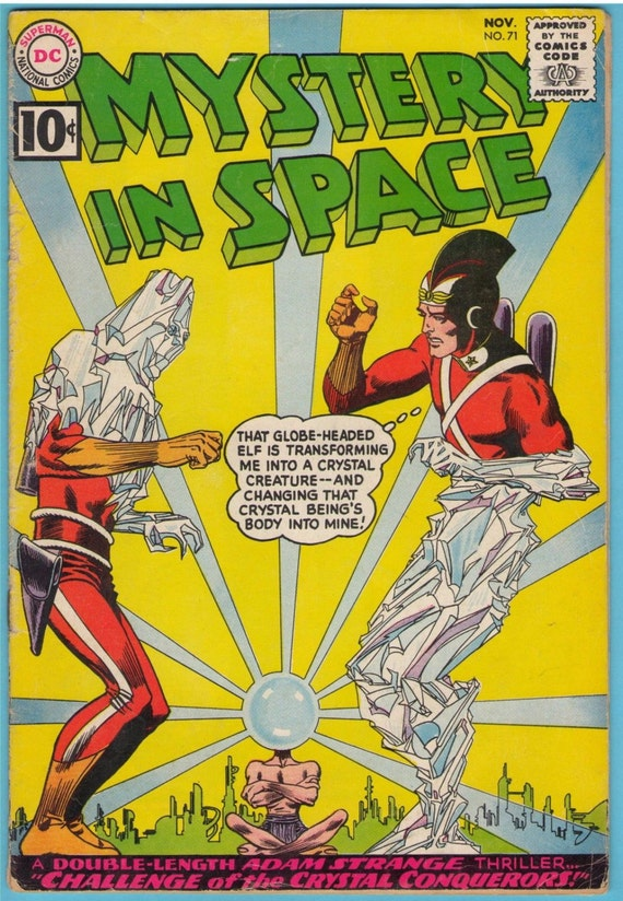 Mystery in Space 71 Nov 1961 VG- (3.5)