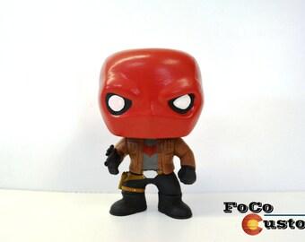 Custom Funko Pop! Red Hood (Jason Todd, Death in the Faimly, Under the Red Hood, Batman, Batfamily, Batgirl, Joker, Robin)