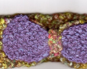 HAND KNITTED HEADBAND - Toddler/Child