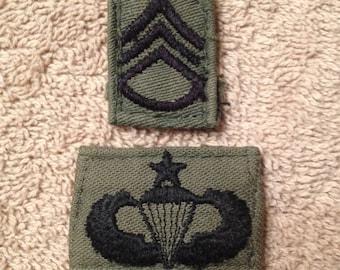 Vintage Vietnam War Uniform Patches