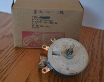 Ohmite Manufacturing Co. Cermaic Variable Resistor-Potentiometer