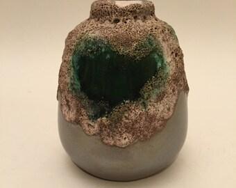 Strehla, GDR/DDR east german, Fat Lava, vase