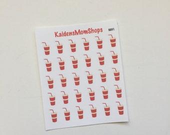 Soda Pop Mini Set of Stickers - M008