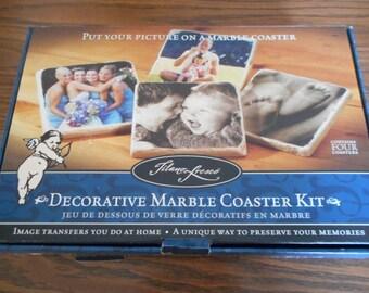 DIY Marble Photo Coaster Kit