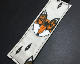 Fabric Bookmark - Fox