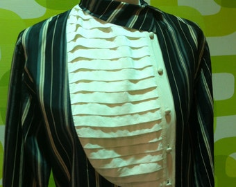 shirt, shirt, vintage 1980s, made in italy