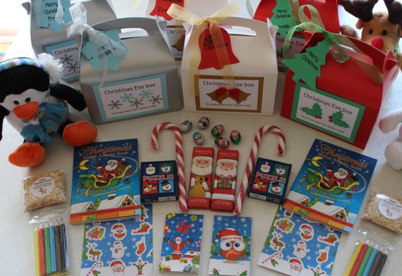 Children's Christmas Eve boxes - Personalised