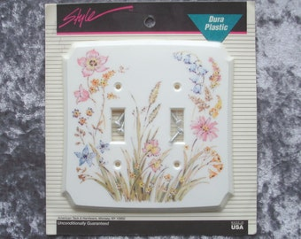 Vintage Floral Lightswitch Wallplate