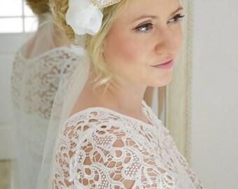 Couture rhinestone bridal headband/head piece-style 328