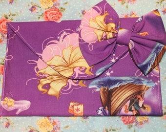 Disney's Tangled envelope clutch