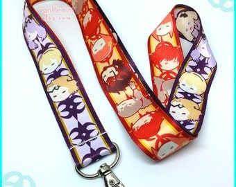 Fire Emblem Fates Lanyard Birthright Conquest