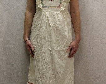 Vintage 1960's hand made peasant dress size M/6/8/Rare authentic vintage/used condition/music festival/wedding/sundress/peasant/BOHO/Hippie