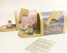Tooth Fairy Kit - Letter From The Tooth Fairy - Mailbox - Scroll - Fairy Dust