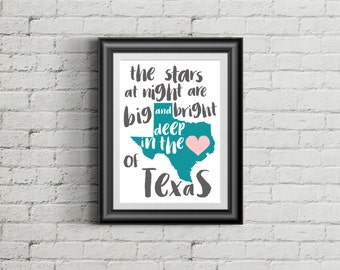 Deep in the Heart of Texas | Art Print