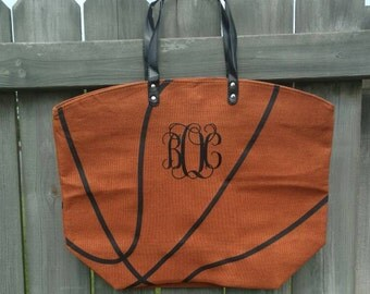 Basketball Tote, Basketball Tote bag, Personalized Basketball Tote, Monogrammed bag, Basketball Tote, Basketball Bag, Basketball mom