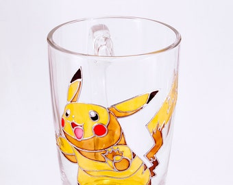 Pikachu Mug, Pokemon Mug, Anime Mug, Gamer Mug, Geeky Gifts, Pokemon Gifts, Pokemon Go Mug, Pikachu Gift