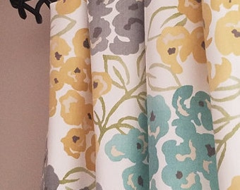 aqua teal yellow and gray curtains yellow and gray curtains yellow and