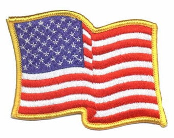 American Flag Patch - Stars and Stripes - USA