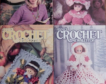 Vintage Annie's Crochet Pattern Books From 1995( 20% Price Reduction)