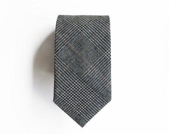 Marylebone Wool Men's Tie, Skinny Tie