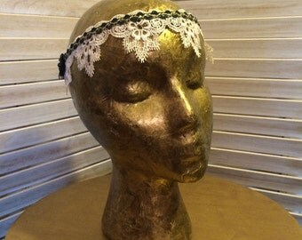 Gatsby Boho Wedding Headband