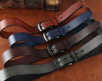 Belt , Genuine Leather Belt,  Mens Belt , Mens Leather Belt