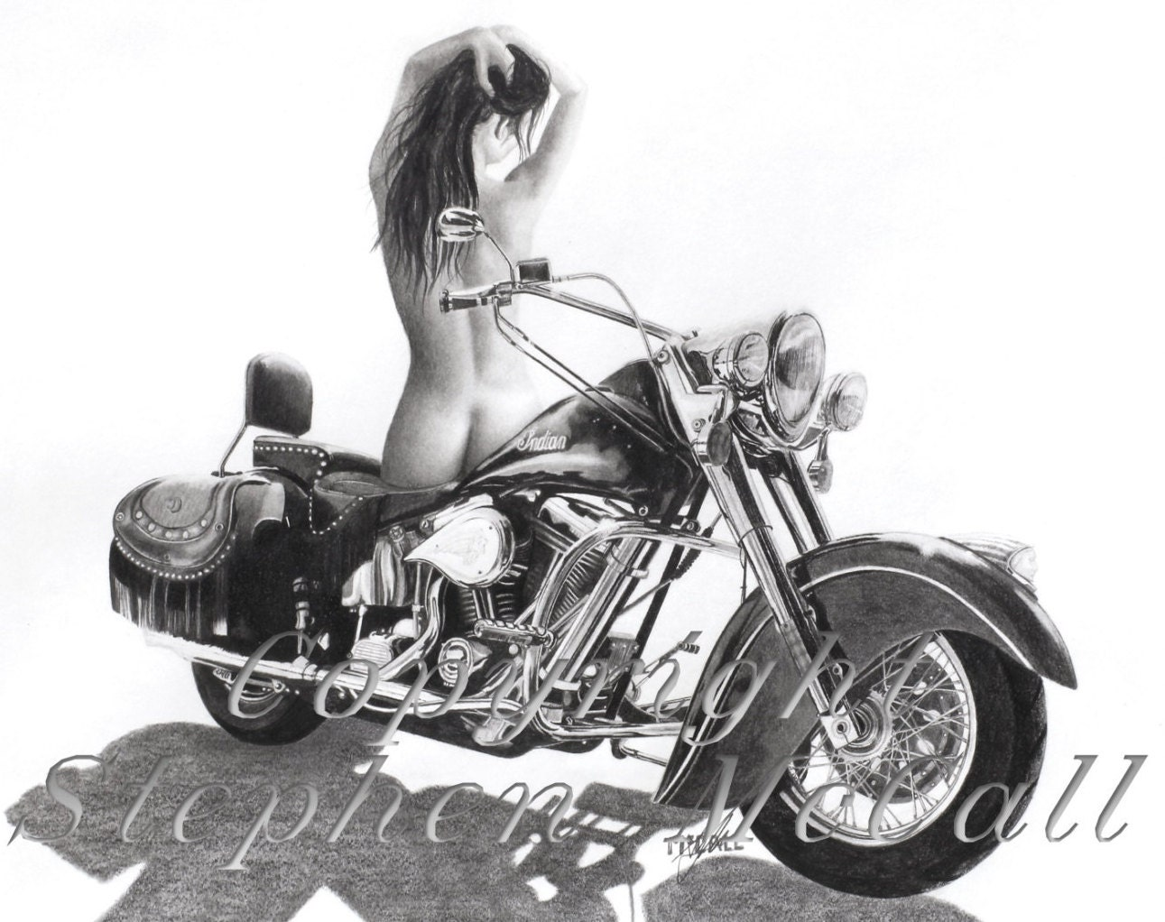 Uncategorized Motorcycle Pictures To Print giclee fine art print from original indian beauty