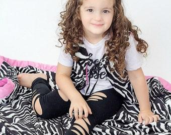 Kids Blanket, Zebra Blanket, Toddler Blanket, Baby Shower Gift, Personalized Baby Blanket, Girls Blanket, Child Minky Blanket, Blanket, Kid