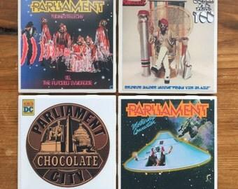 Parilament Funkadelic Album Cover Coasters
