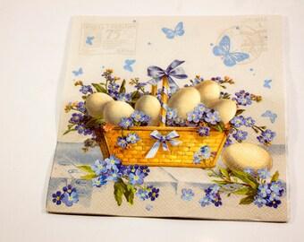 Decoupage napkin Paper napkin Easter Decoupage napkins scrapbooking paper craft paper napkins