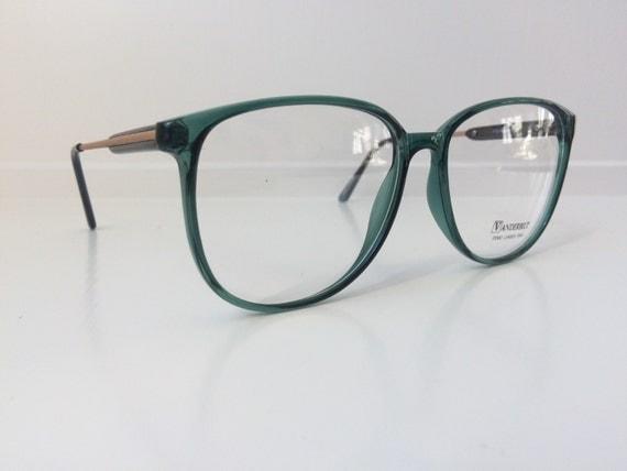 Jade Green Eyeglass Frames : Items similar to Vintage Green Glasses - Vanderbilt ...
