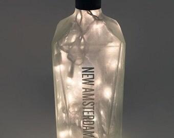New Amsterdam Vodka Bottle Lamp / Vodka / Gifts for Men / Gift Ideas